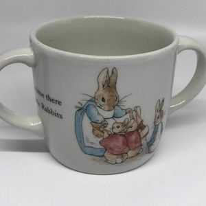 Wedgwood Peter Rabbit Childs Cup Beatrix Potter